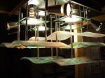 Kiln Formed Lamp/Fabriated Fixture