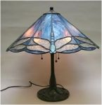 Lamp with Dragonflies