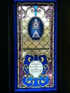 Mason Window #9