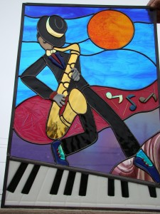 Sax player 008